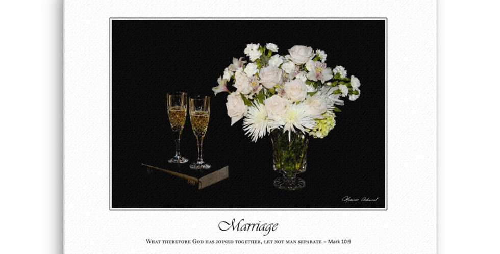 Marriage - Premium Canvas