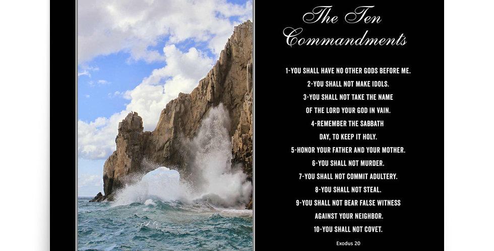 The Ten Commandments - Premium Poster