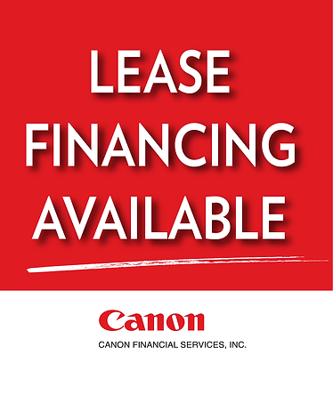 Canon Financial Services Leasing Banner