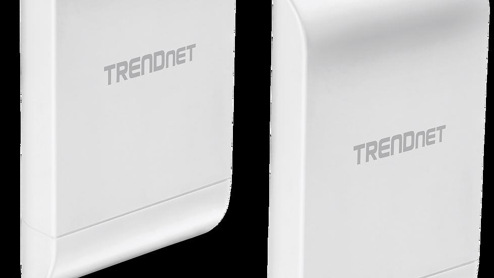 TRENDnet 10 dBi WiFi N300 Outdoor PoE Preconfigured Point-to-Point Brid