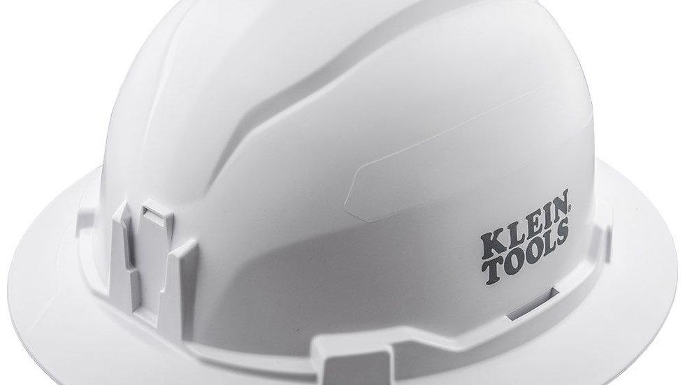 KLEIN CLASS E FULL BRIM HARD HAT