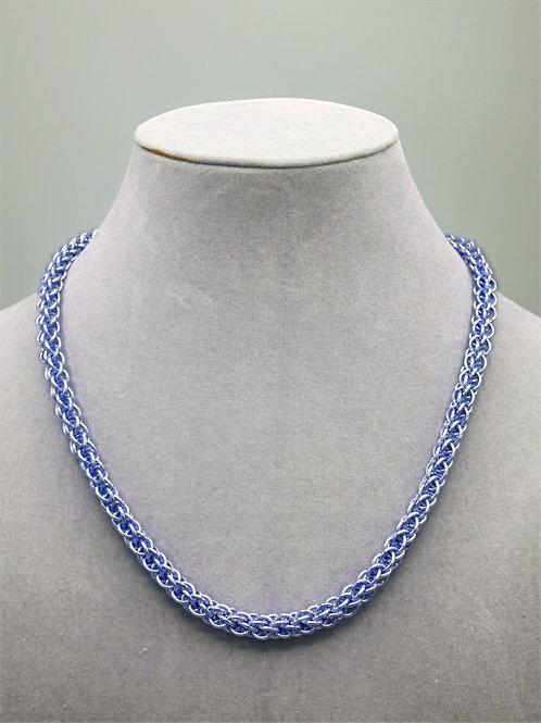 "16.7"" Light purple Forars Kaede weave anodized aluminum chainmail ne"