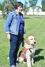 Janet Priest (Dog Trainer) and K9 Ben.JP