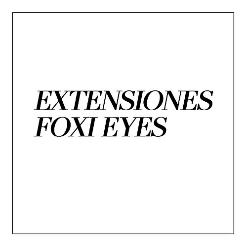 Extensiones de Pestañas EFECTO FOXI EYES
