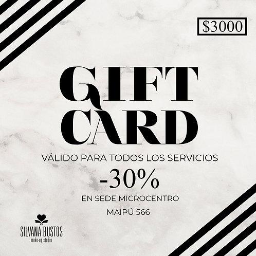 Gift Card Servicios