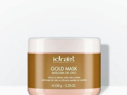 Idraet - Máscara de Oro & Células Madre de Argán - GOLD MASK