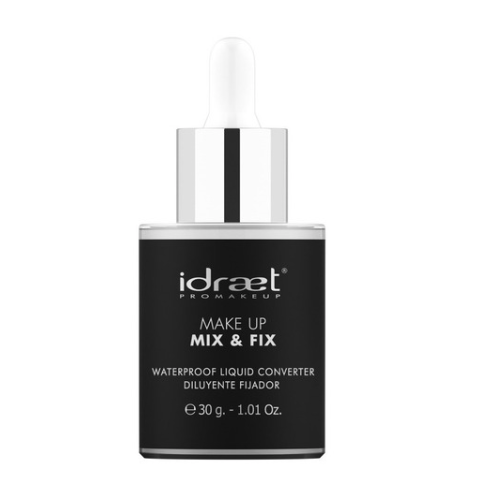 Idraet - MAKE UP MIX & FIX - Diluyente fijador Waterproof para polvos 30 Gr