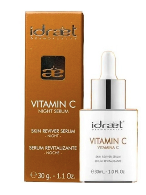 Idraet - VITAMINA C  NOCHE - Serum Revitalizante   30 ml