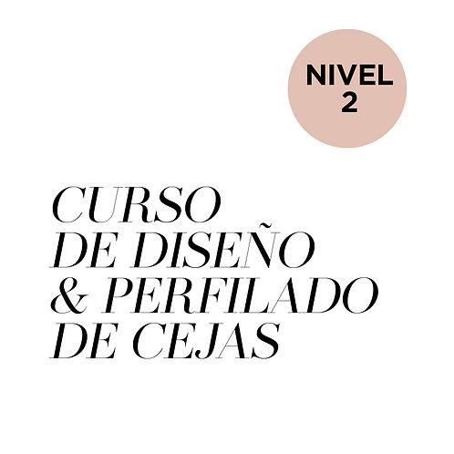 NIVEL 2 - CURSO DE DISEÑO Y PERFILADO DE CEJAS