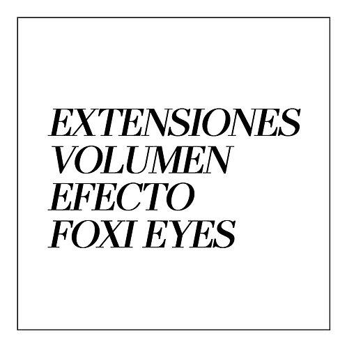 Extensiones de Pestañas VOLUMEN EFECTO FOXI EYES