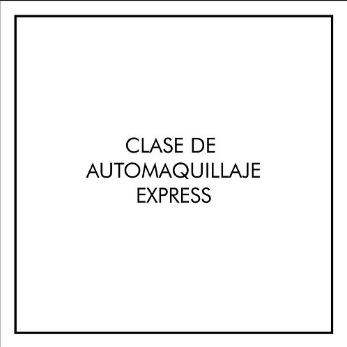 Automaquillaje - 1 clase -  Maquillaje Express