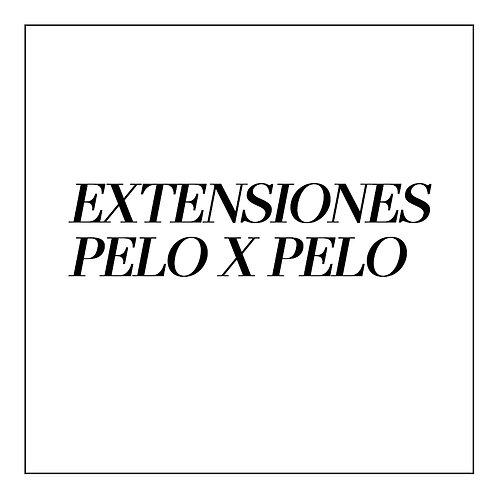 Extensiones de Pestañas PELO X PELO