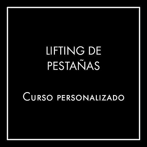Lifting de Pestañas - Curso Personalizado
