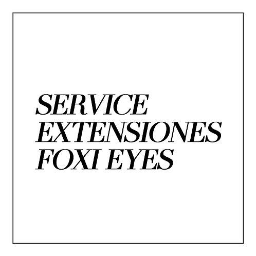 Extensiones de Pestañas SERVICE FOXI EYES
