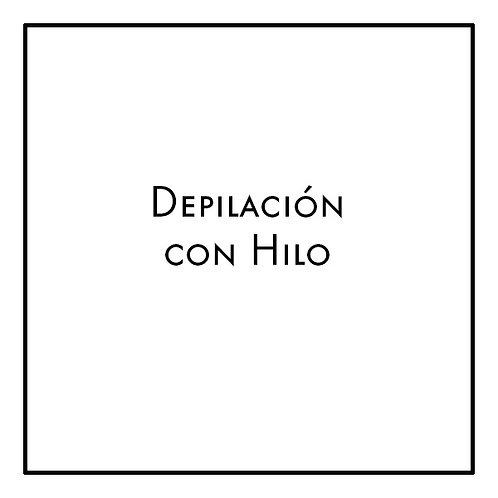Depilación con Hilo - Cejas + Bozo + Menton
