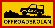 Offroadskolan sign.png