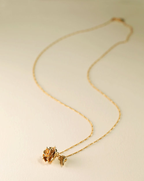 Rose & Thorn Top Necklace