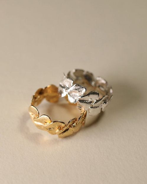Mini Rose Petal Ring