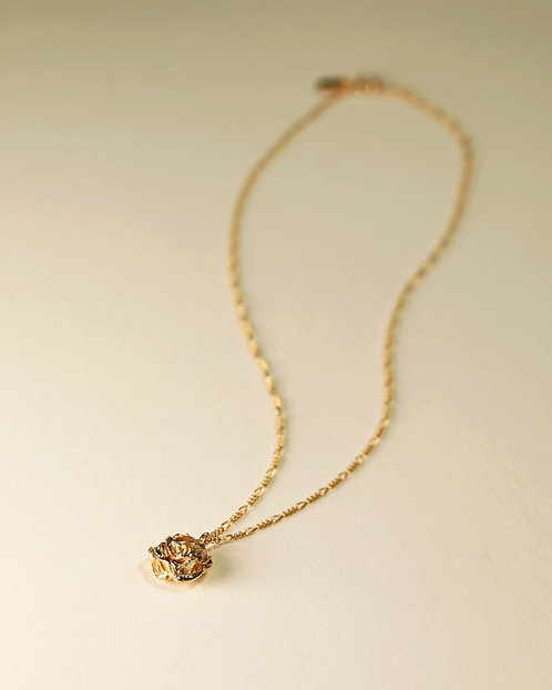 Rose Top Necklace