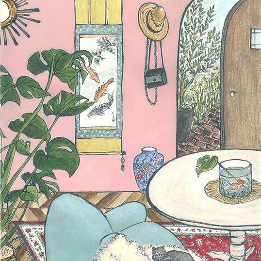 Room with Modigliani 3