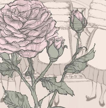 illustration of rose