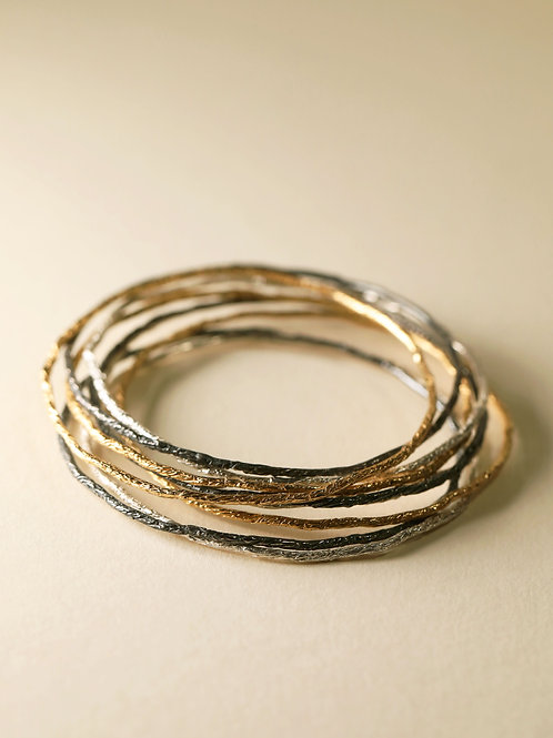 Reflection Bangles ( A set of 9 )