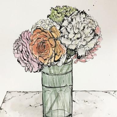 """Portrait of Flowers"""
