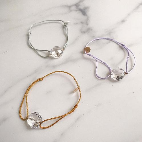 Code Bracelet / Single Crystal