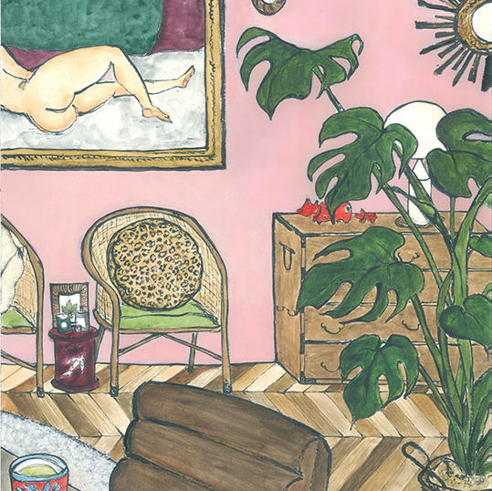 Room with Modigliani 2