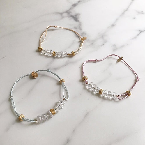 Code Bracelet / Baby Crystal