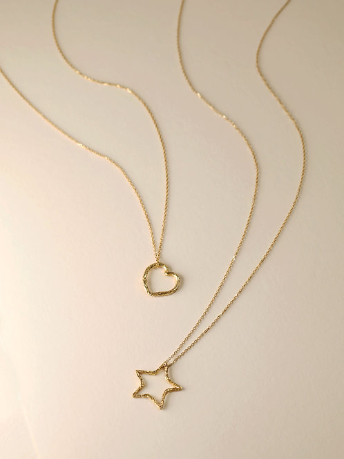 Linear Motif Necklace
