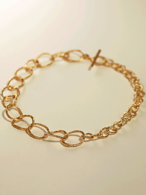 Double Hoop Chain Necklace