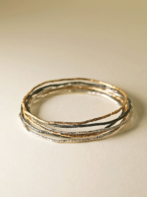 Reflection Bangles ( A set of 6 )