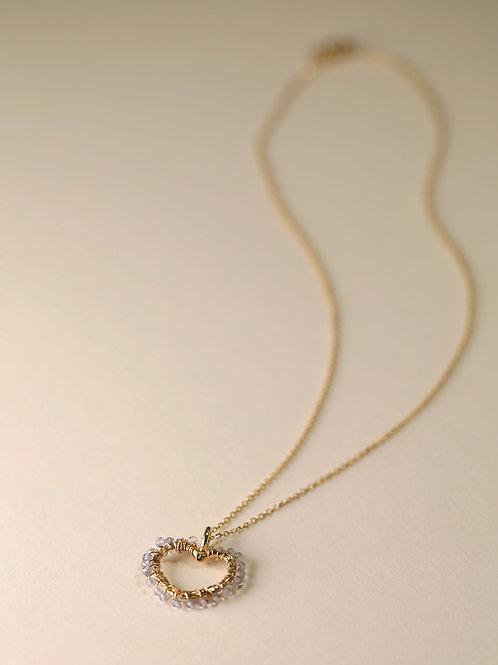 Heart & Gem Necklace