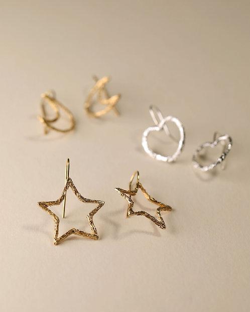 Linear Motif Earrings