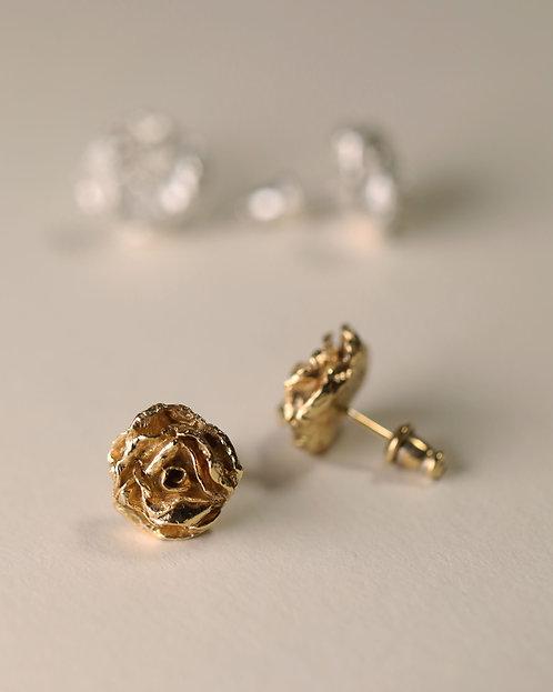 Rose Earrings / Stud