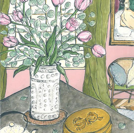Room with Modigliani 1