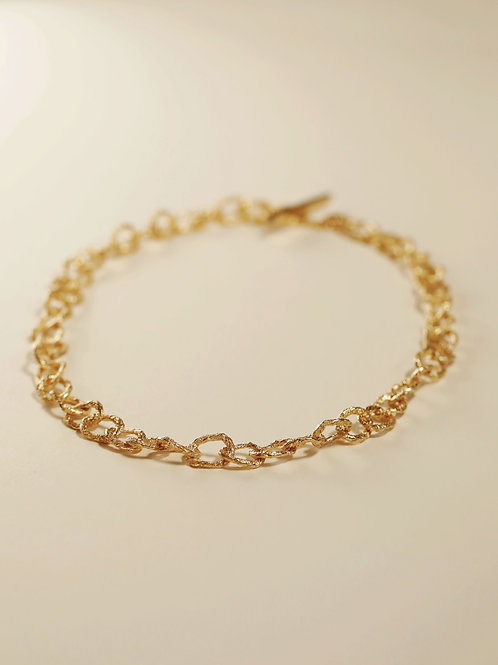 Small Hoop Chain Necklace