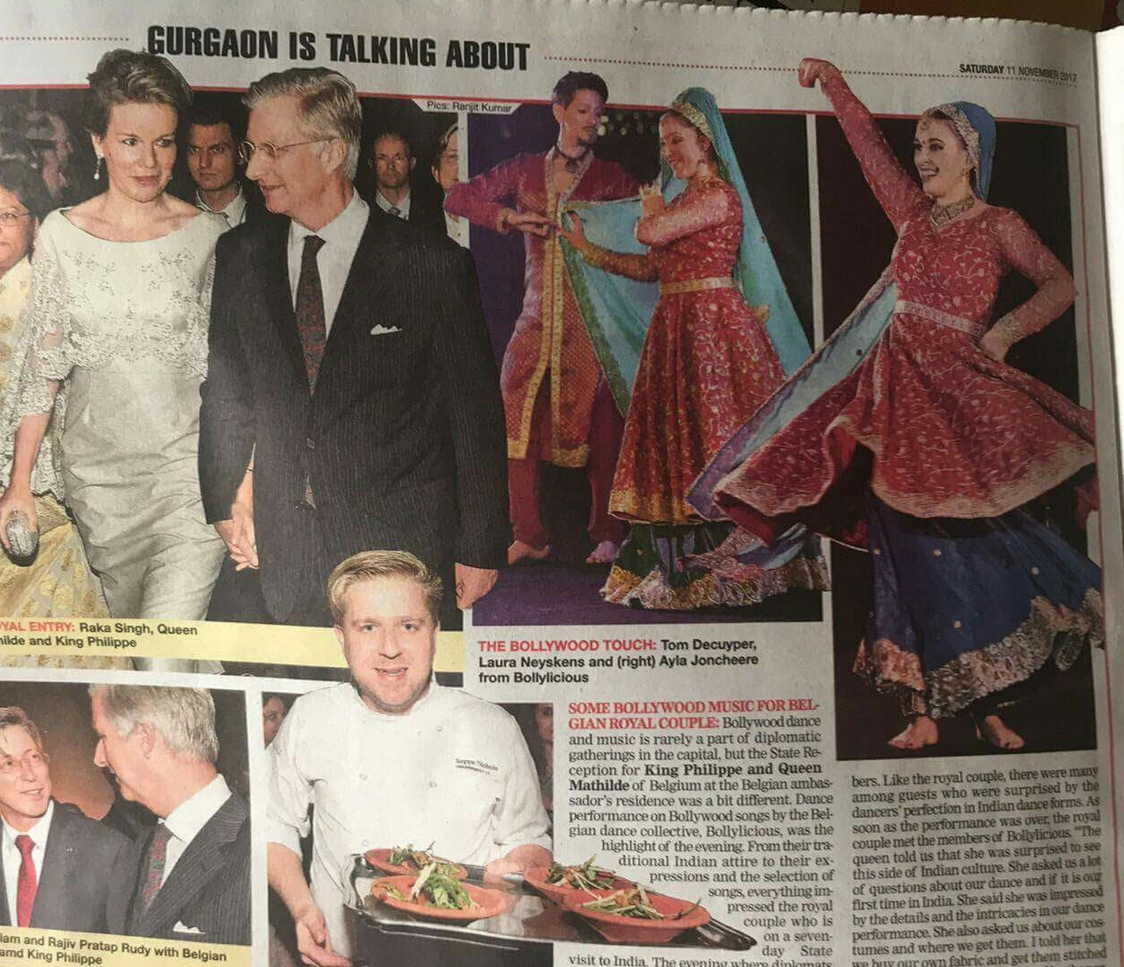 Bollylicious State Visit India