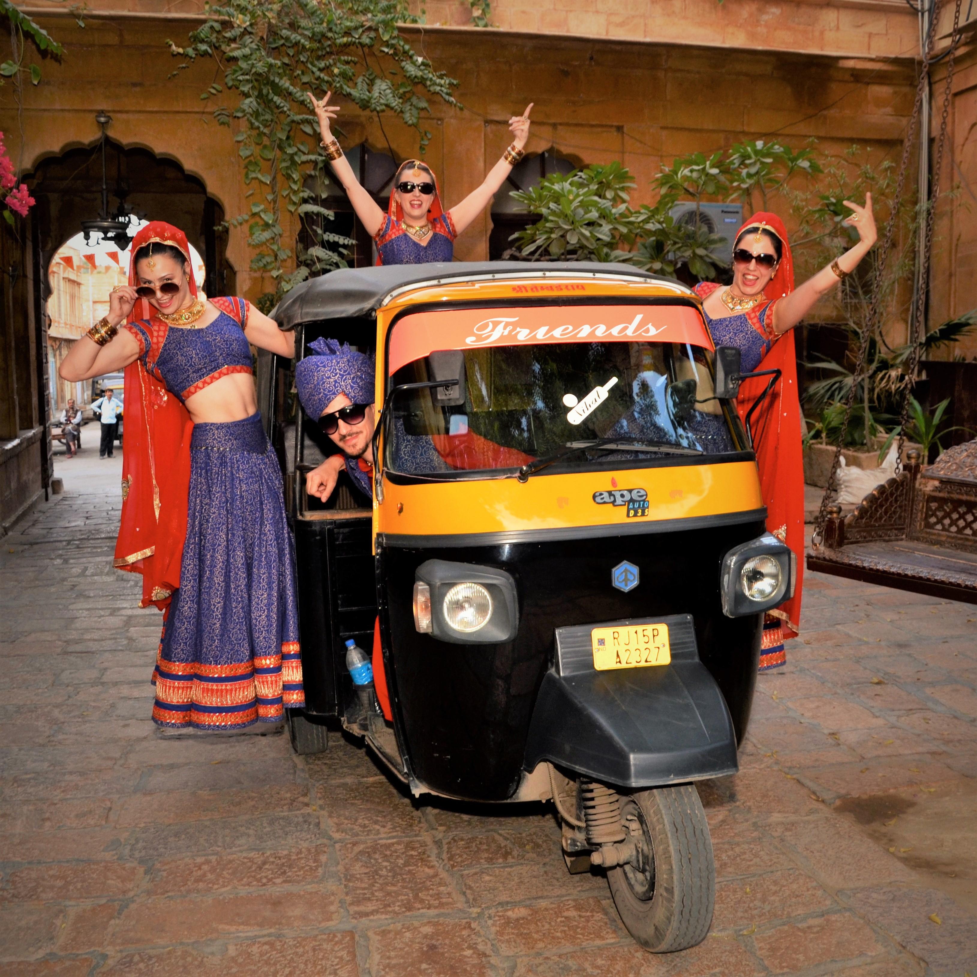 Bollylicious Jaisalmer Riksja