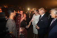 Bollylicious Bollywood Indian Dance Belgium Indische dans België Koning Philippe Mathilde King Queen State Visit