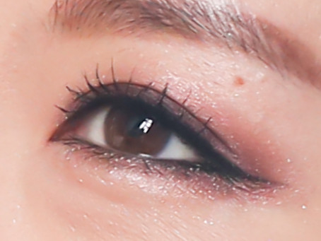 Beautiful Party eye makeup with one palette