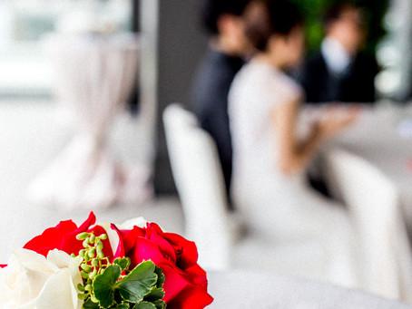 A Simple and Elegant Wedding at Peninsula HK