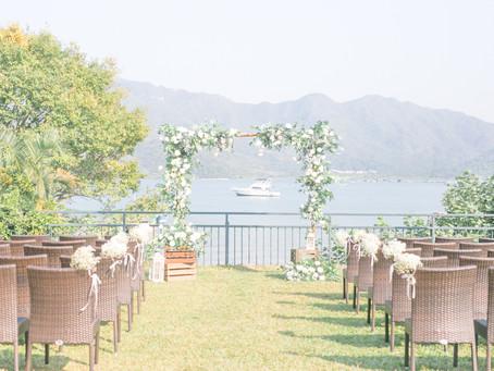 Seaside Outdoor Wedding Venue in Sai Kung