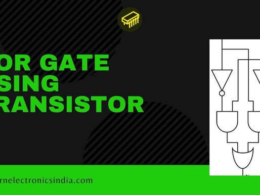 EX-OR gate using transistor
