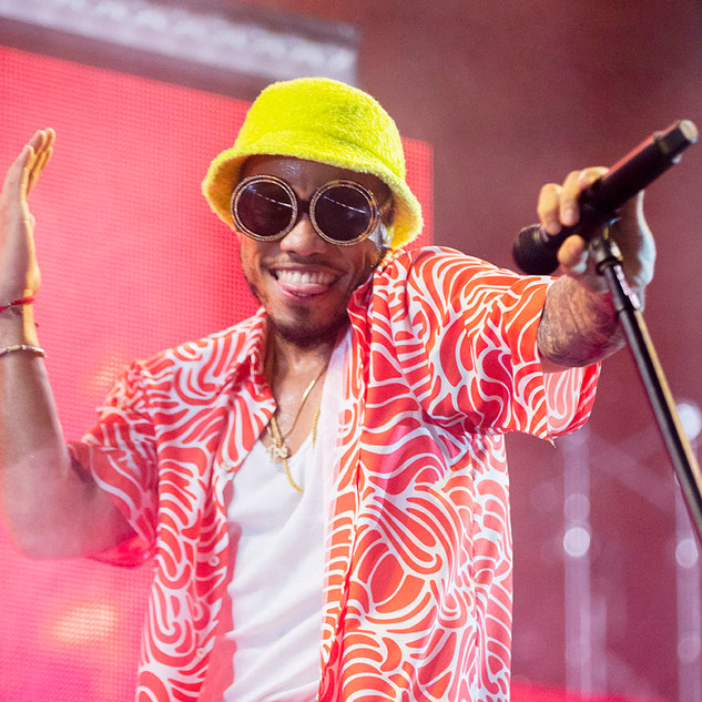 Anderson Paak at Champions' Square, New Orleans, 2019