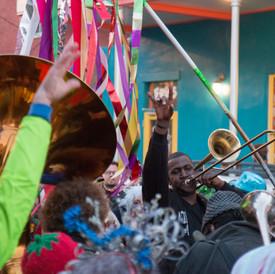Brass Band Jam on Frenchmen Street, 2016