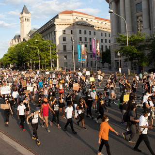 D.C. Protests leads their second march from Malcolm X Park to D.C.'s City Hall on Saturday, June 13, 2020.