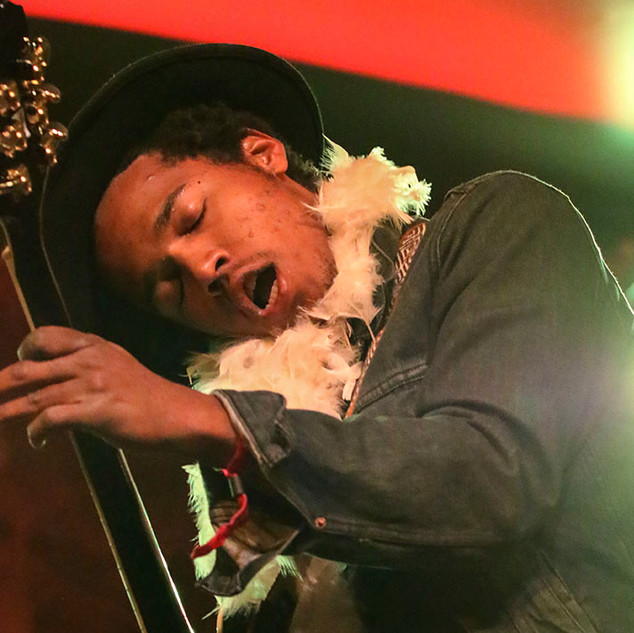 Benjamin Booker at the Voodoo Music and Arts Experience, New Orleans, 2014