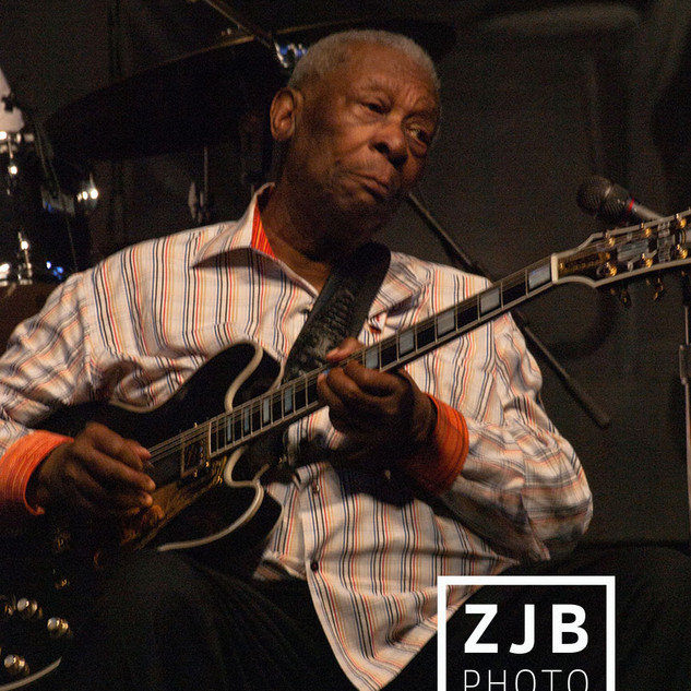 B.B. King at the New Orleans Jazz and Heritage Festival, 2013